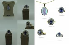 Обработка ювелирных украшений для онлайн магазина