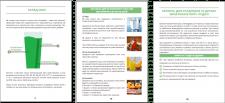 Верстка книги о полезных свойствах сока