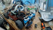 робот для соревнований RoboRace