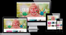 Дизайн сайта для центра тренингов