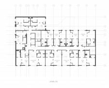 План здания, каждая квартира отдельный слой