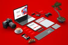 Логотип, сайт, брендинг и айдентика для студии