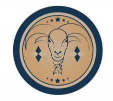 Логотип для хозяйства разводящего племенных коз