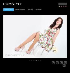 Интернет магазин Romstyle