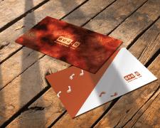 Логотип и визитка для радиостанции