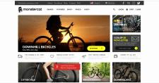 Пример красивого сайта, выполненного Flex'ом