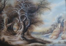 Картина Сказочная Зима