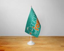 Сувенирный флажок детской студии