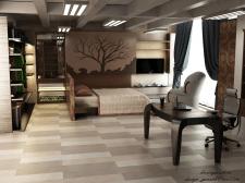Визуализация салона мебельной компании