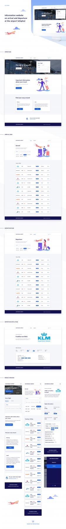Airport Website Design