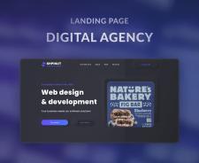 """Landing Page """"Digital agency"""""""
