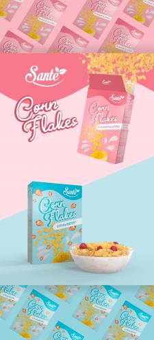 Corn Flakes Pack Design