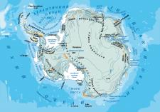 Географическая карта в векторе 2