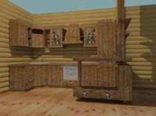кухня в состаренном стиле