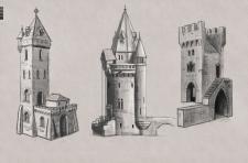 архитектурні скетчі
