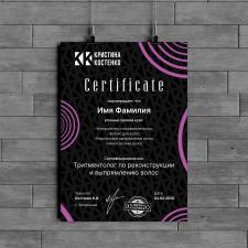 Сертификат (косметология)