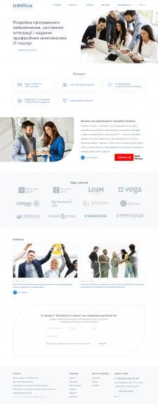 Разработка корпоративного сайта компании под ключ