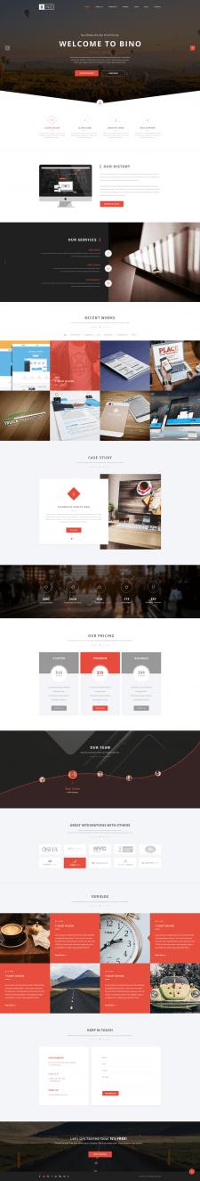 BINO - Landing Page