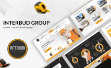 Разработка дизайна сайта для INTERBUDGROUP