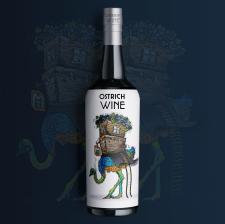 иллюстрация для этикетки с вином