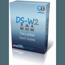Виджет DS-W2 - AMO CRM  поиска дублей контактов по