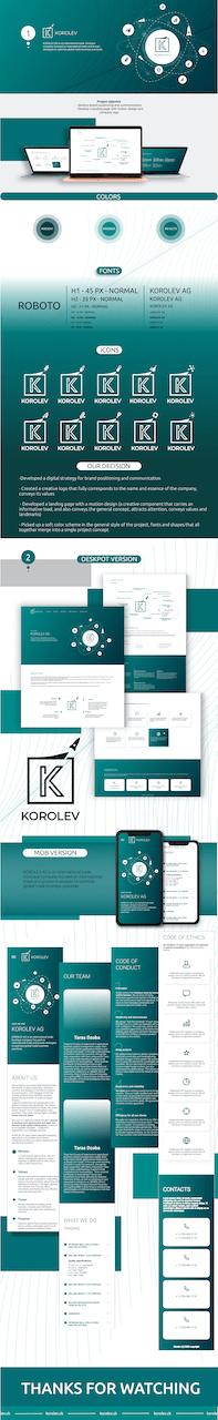 Сайт Korolev AG