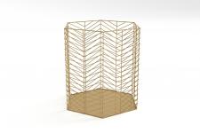 Basket corbeille phiki golden