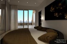 Квартира 129.2 м.кв. (спальня №2)