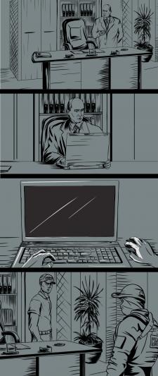 Иллюстрации к комиксу