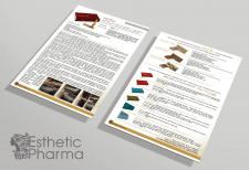 рекламная листовка товаров Esthetic pharma