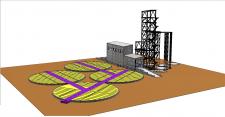 Строительство комплекса зернохранилищ