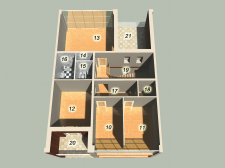 Таунхаус 2 stage