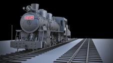 Old Japanese locomotive LDT103