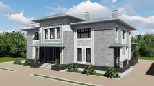 Индивидуальный жилой дом общей площадью 500кв.м