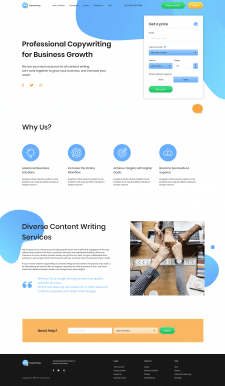 "Landing Page ""Copywriting"""