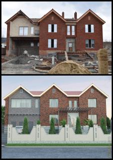 Проект частного дома г.Харьков
