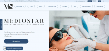 Сайт для клиники косметологии