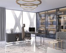 3д визуализация и моделирование стола в интерьере