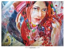 Украинка портрет