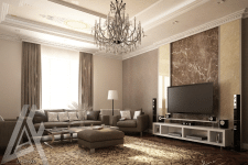 Однокомнатная квартира в Баку
