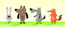 2 Д персонажи для комп. игры