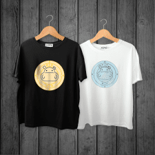 Бегемот (логотип на футболку)