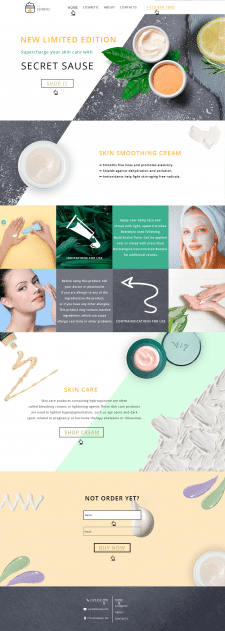 Skin cream