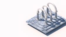 3D Модель калоны