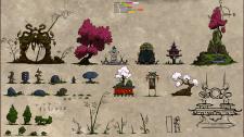 Набор иллюстраций для игры