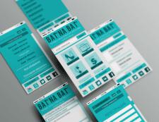Дизайн мобильного сайта