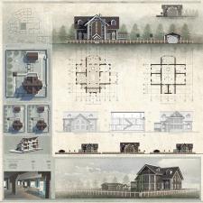 Проектирование и визуализация усадебного дома