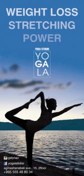 Плакат йоги