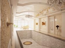 Бассейн частный дом Одесса