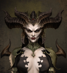Lilith from Diablo 4